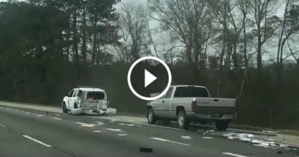 drunk Driver Crashes Dodge Ram Louisiana State Trooper Vehicle 21