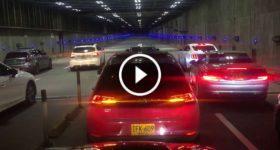 Violent Crash Huge Illegal Street Race Tunnel 1