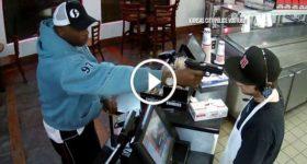 Fast Food Employee Calm Armed Robbery Kansas 1