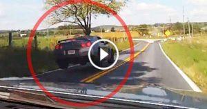 Nissan GTR Gets Airborne jump 1