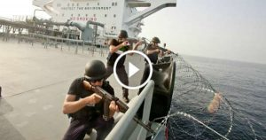 fearsome Somali Pirates security guards stop ship sea attack 1